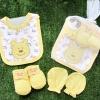 เซตถุงมือ ถุงเท้า กันเปื้อน (แพค 3 ชิ้น) แบรนด์ My Little Baby