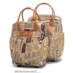 กระเป๋าเดินทางล้อลาก 24 นิ้ว ลาย Newpaper รุ่น Limited Editon