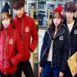 PRE-ORDER เสื้อกันหนาวคู่รัก เสื้อแจ็คเก็ตกันหนาวคลุมหนาใหญ่อบอุ่น ญ/ช.เสื้อแจ็คเก็ตกันหนาว