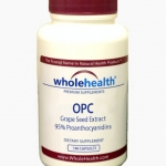 Whole Health, OPC Grape Seed Extract 180mg blend (180 capsules)