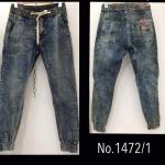 พร้อมส่ง กางเกงJOGGER JEANS PANT (minimal style) รุ่น #1472/1