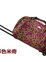 กระเป๋าเดินทางล้อลาก 24 นิ้ว กันน้ำ หิ้วหรือลากขึ้นเครื่องได้ ไม่ต้องโหลดกระเป๋า (ส่งฟรี Kerry Express) สำเนา
